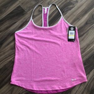 Under Amour  pink fitted workout tank